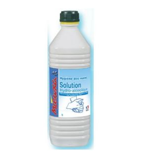 SOLUTION HYDRO-ALCOOLIQUE