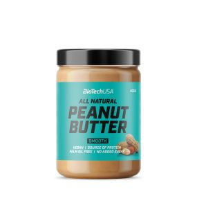 ALL NATURAL PEANUT BUTTER SMOOTH